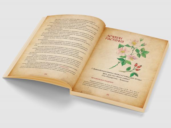 История за билките от времето на траките корица - вътре 3