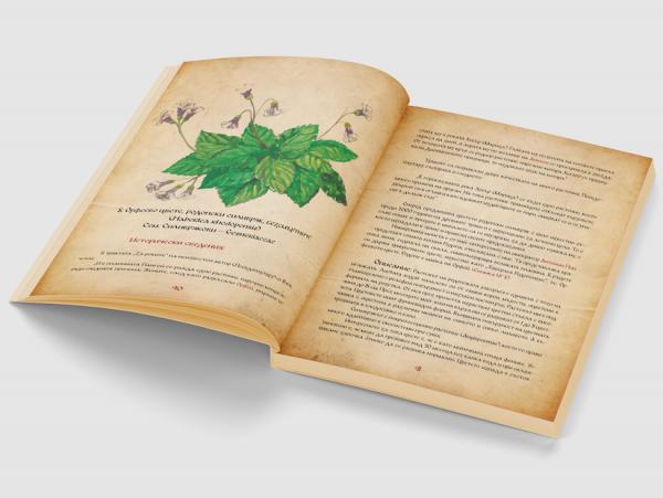 История за билките от времето на траките корица - вътре 4